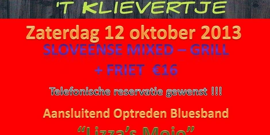 Optreden in Het Klievertje te Beernem.